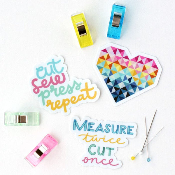 quilty stickers, Quilty Gift Guide by Penny Spool Quilts