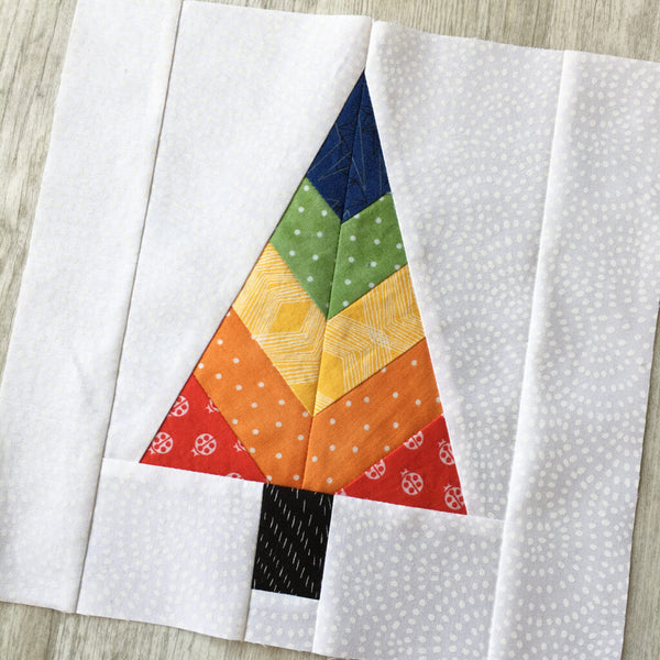 Festive Forest FPP Table Runner Pattern by Penny Spool Quilts