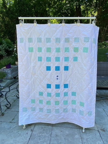 Staccato Quilt Pattern by Penny Spool Quilts - Tester Quilt by Marianna Savaryn