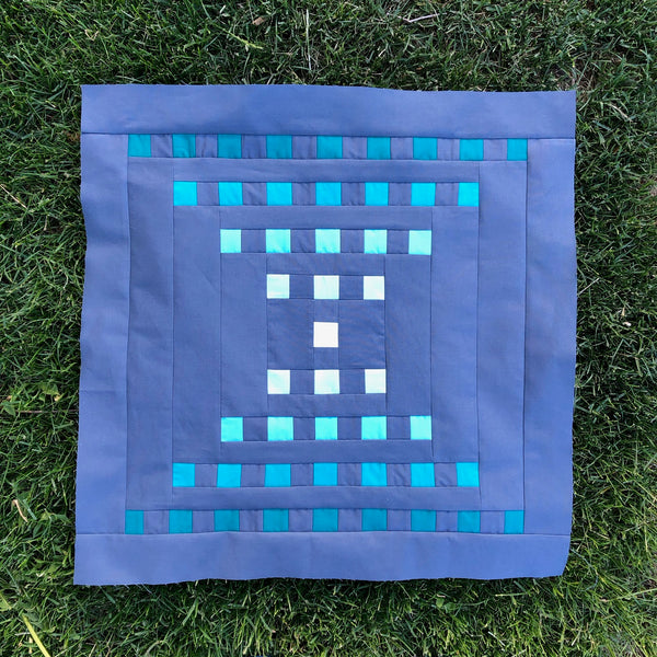 Staccato Quilt Pattern by Penny Spool Quilts - Tester Quilt by Maryanna