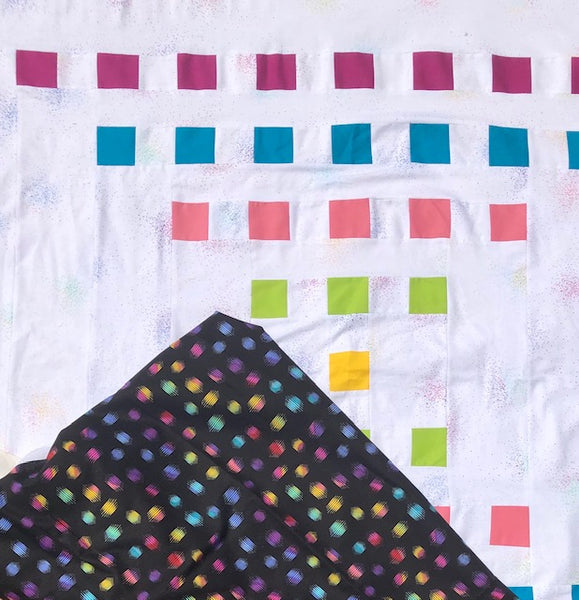 Staccato Quilt Pattern by Penny Spool Quilts - Tester Quilt by Maureen Taylor