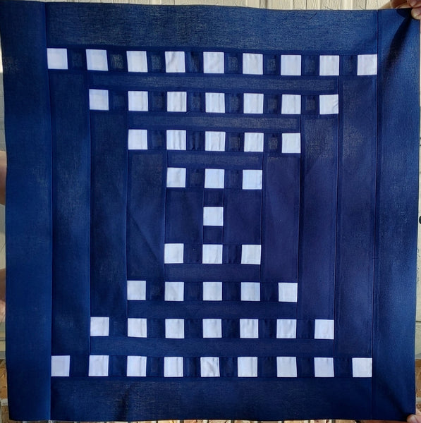 Staccato Quilt Pattern by Penny Spool Quilts - Tester Quilt by Tina Orlita