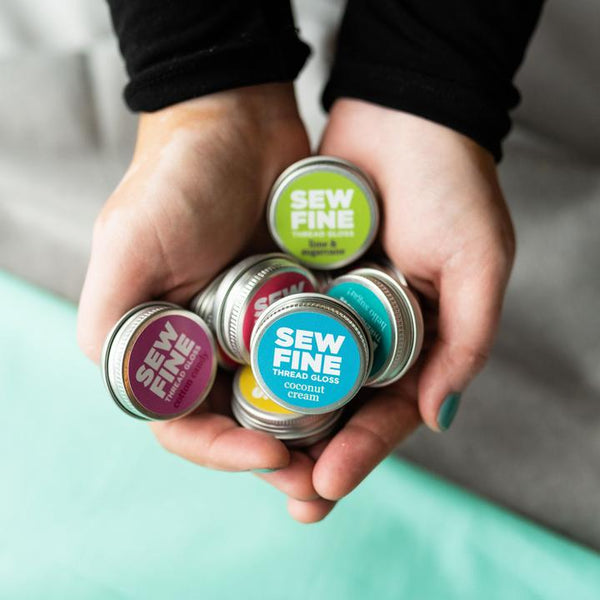 Sew Fine Thread Gloss, Quilty Gift Guide by Penny Spool Quilts