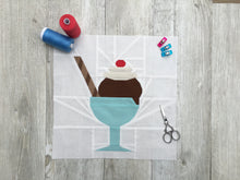 Load image into Gallery viewer, ICE CREAM BUNDLE - All Ice Cream Sunday Quilt Block Patterns - PDF