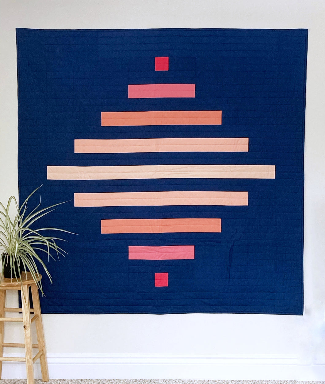 Spinning Top Quilt Pattern - PDF