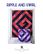 Load image into Gallery viewer, Ripple & Swirl Quilt Pattern - PDF