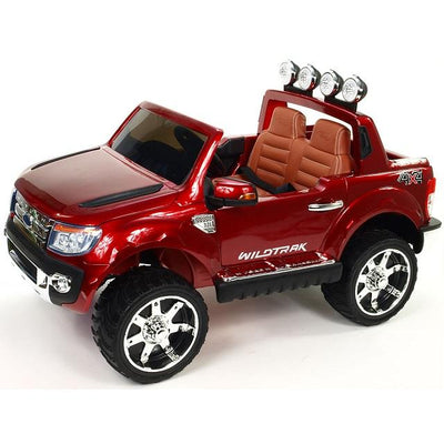 Ford Ranger WildTrak 4x4 Voiture Enfant 12 Volts Rouge 2 places