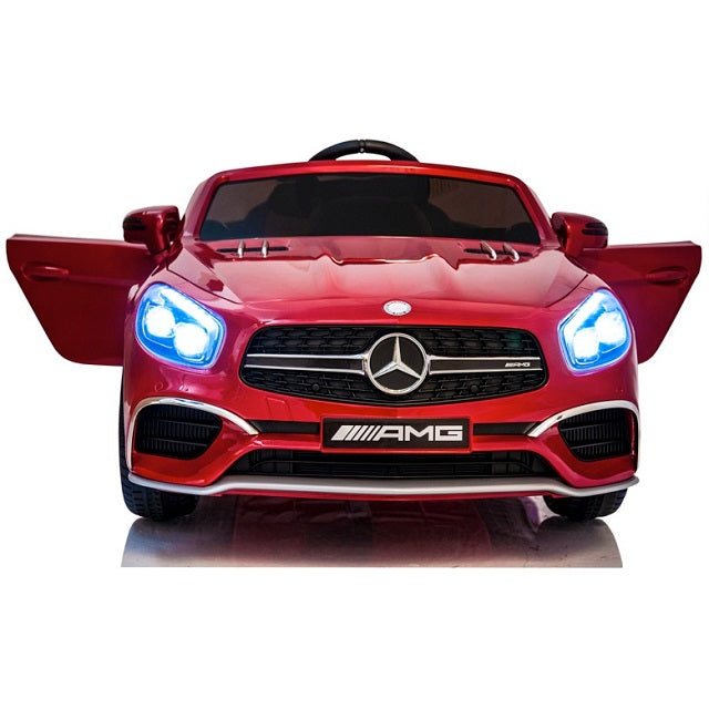 Mercedes Benz SL65 AMG rouge