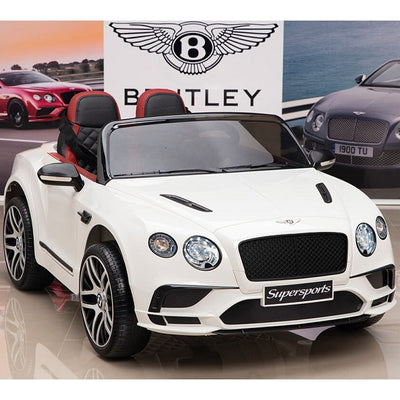 Bentley Continental Supersport 12 V Blanc