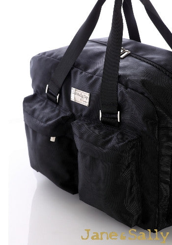 (Jane&Sally)Traveller Series Travel Bag(Black Leopard)