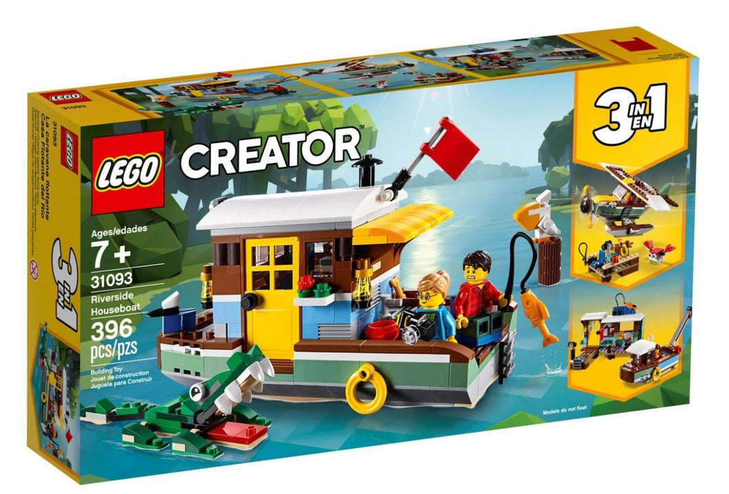 LEGO® Creator 3-in-1 Riverside Houseboat - 31093