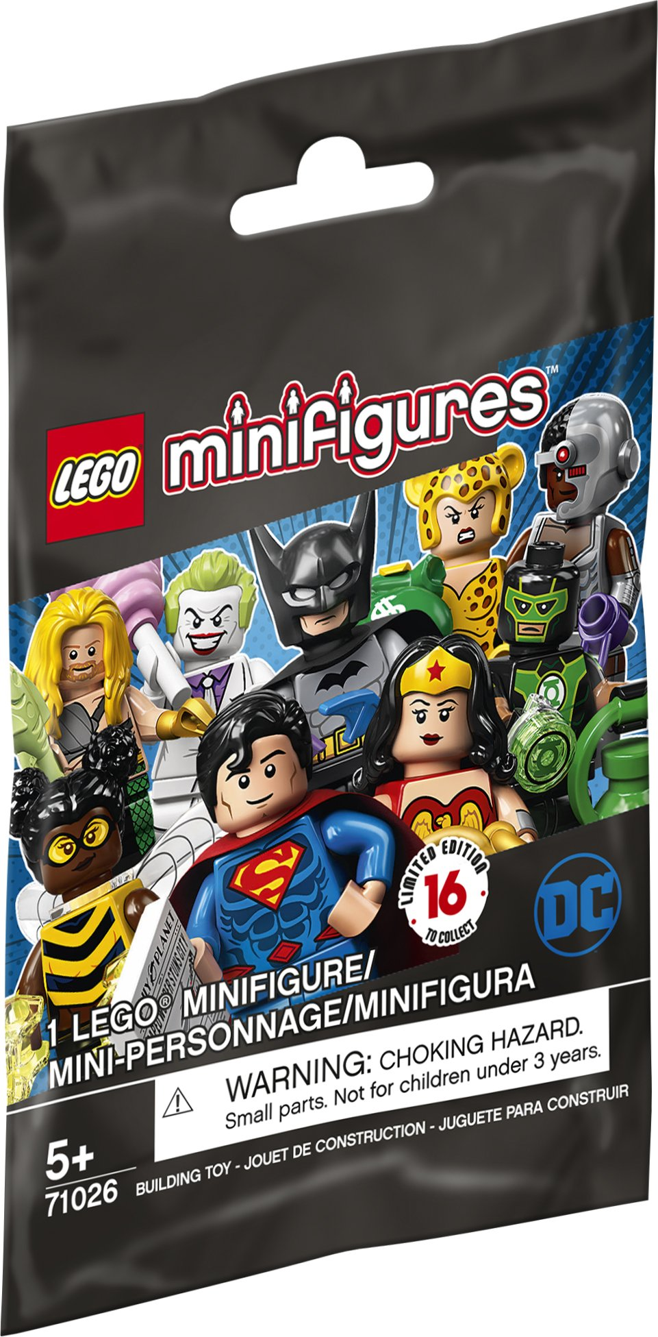 LEGO® DC Super Heroes Series Mystery Minifigures 71026