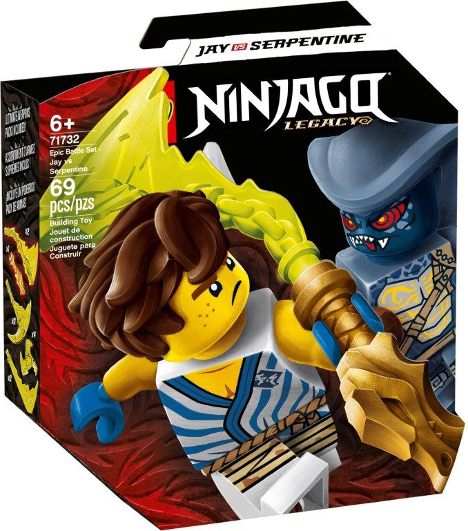 LEGO® NINJAGO® – Epic Battle Set – Jay vs. Serpentine – 71732