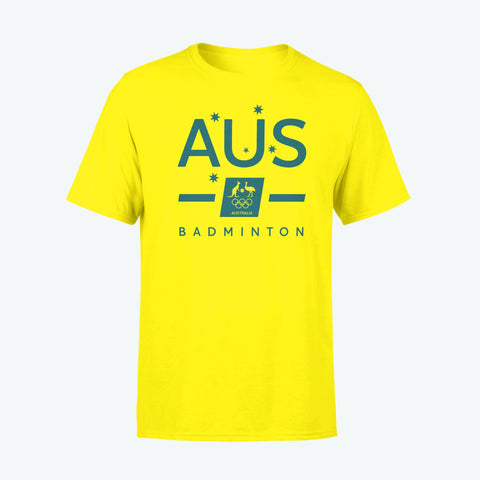 AOC Badminton Kids Gold Supporter Tee