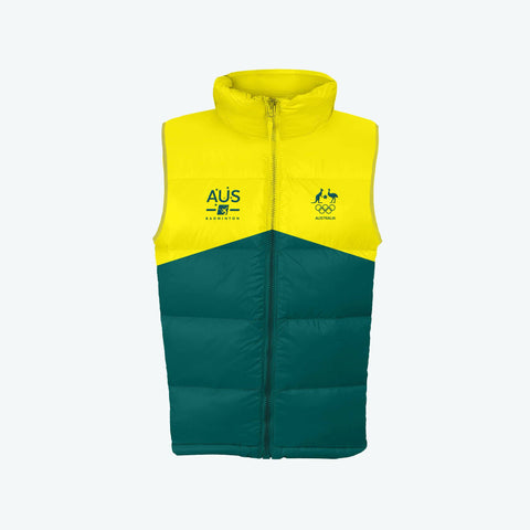AOC Badminton Adults Green Supporter Vest