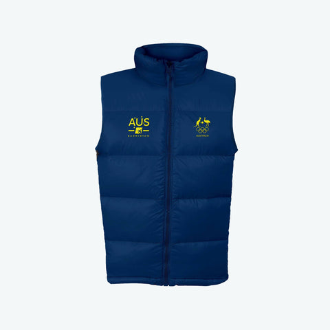 AOC Badminton Adults Navy Supporter Vest