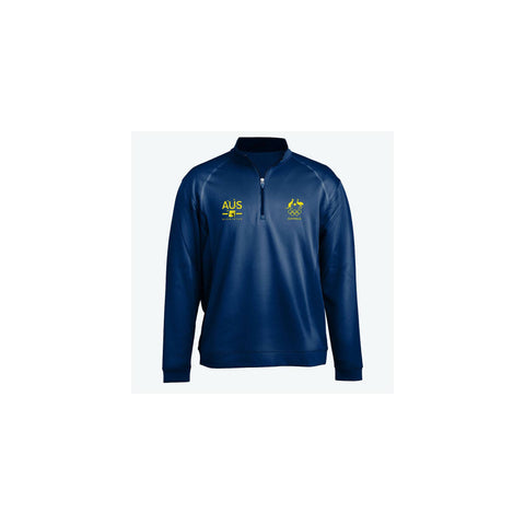 AOC Badminton Adults Navy Elite Supporter Top
