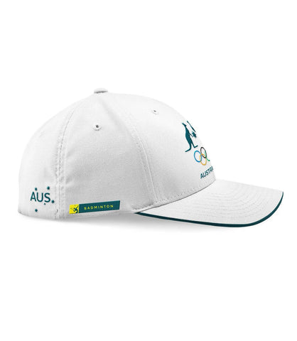 AOC Badminton Adults Cap White