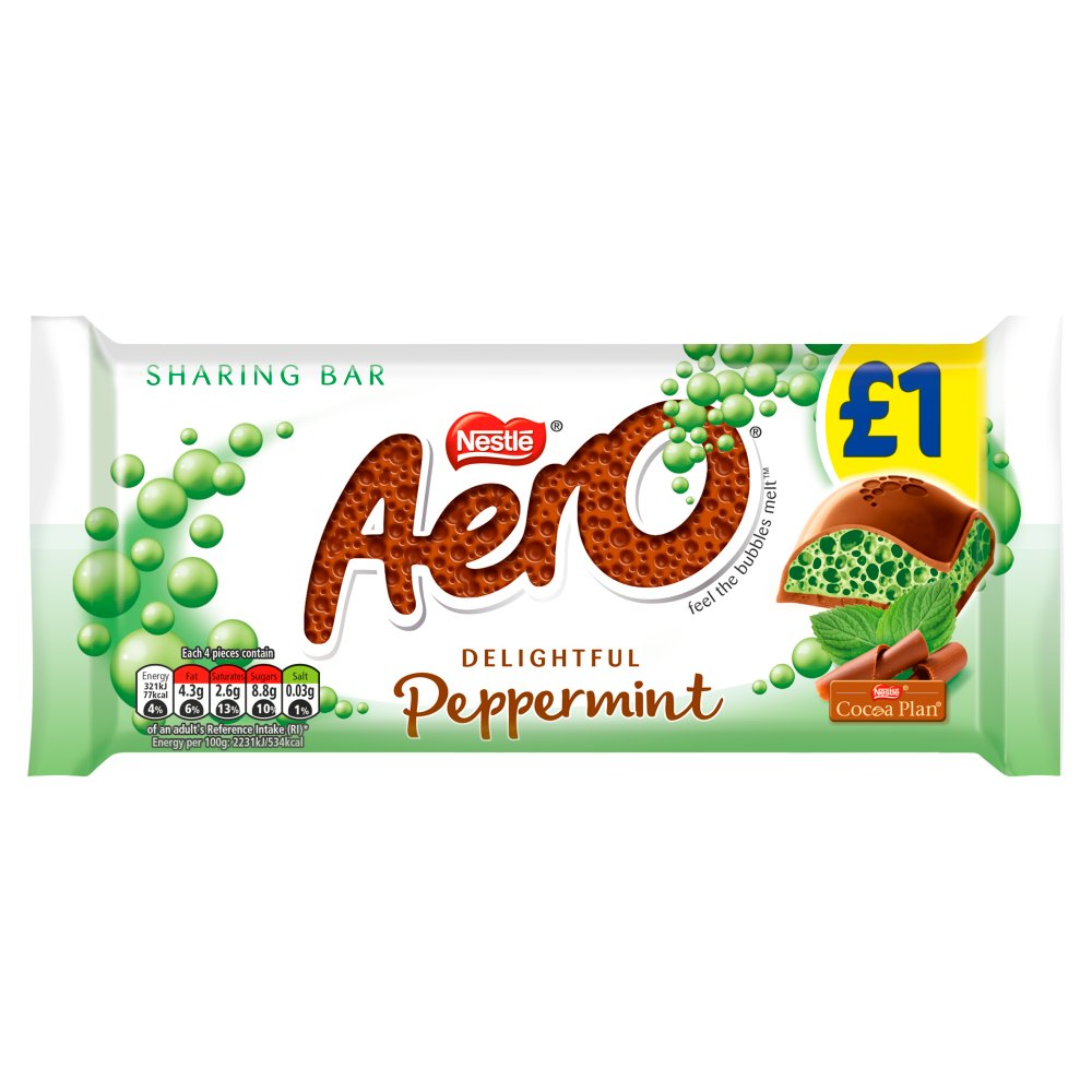 Aero Peppermint Mint Chocolate Sharing Bar