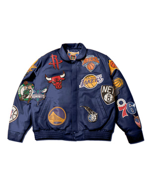 NBA COLLAGE WOOL/LEATHER (Pre-Sale)