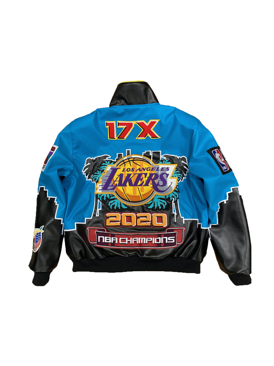 Los Angeles Lakers 2020 Championship Vegan Leather Jacket