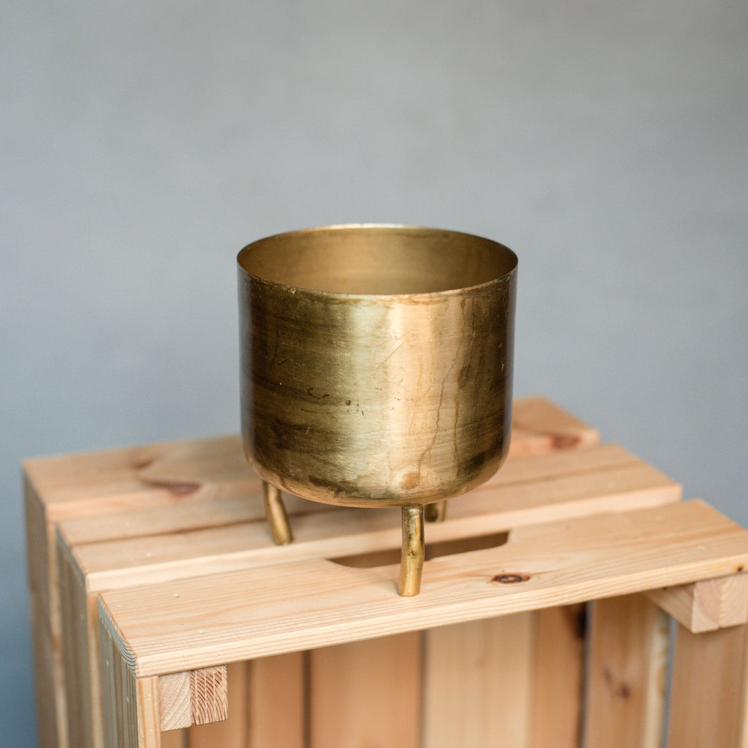 Dobra Metal Pot Old Gold