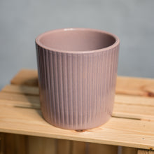 Load image into Gallery viewer, Pot Sophie Ceramic Pink Blush 14cm