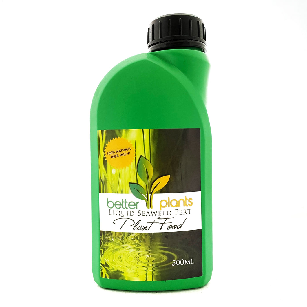 Plant Food - Irish Natural Seaweed Extract 500ml
