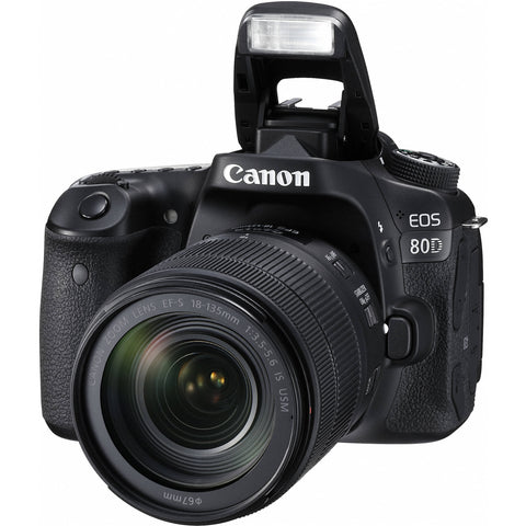 Canon EOS 80D Kit II (EF-S18-135 IS USM)