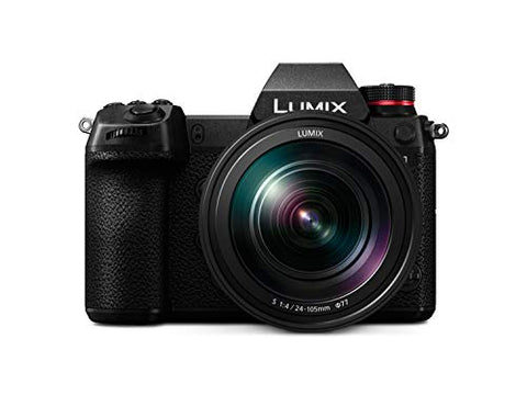 Panasonic S1M with Lumix 24-105mm Lens DSLR