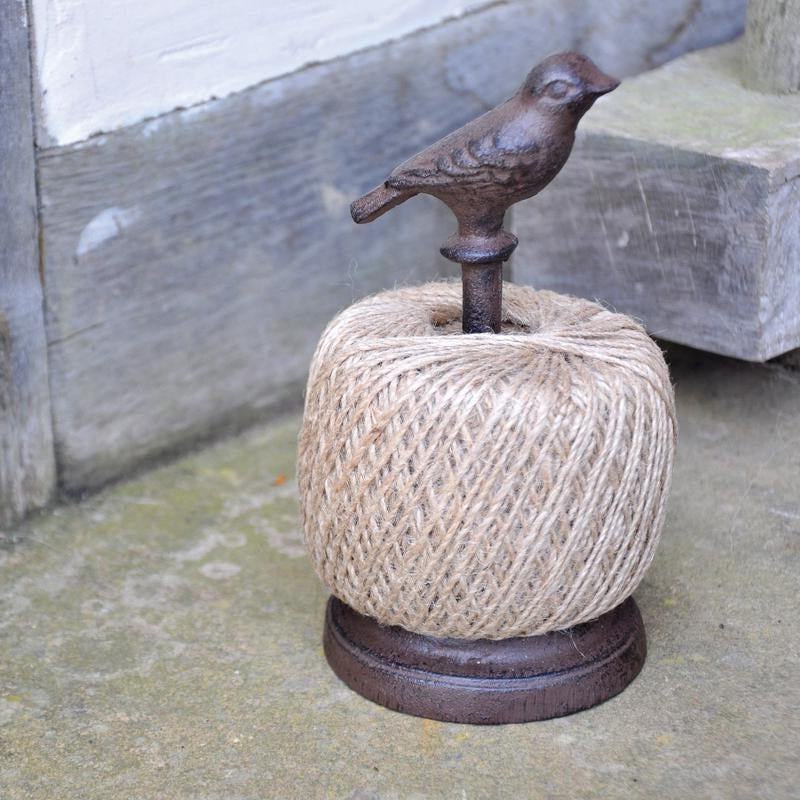 Garden Twine and Ornamental Bird Dispenser