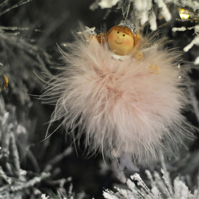 Feather Angel Tree Decoration