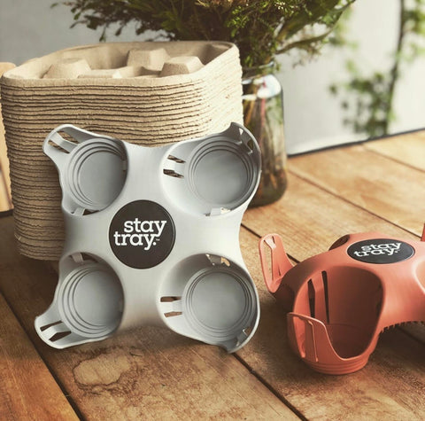 Stay tray Sustainable Coffee and Drink Tray Bundle Plus One