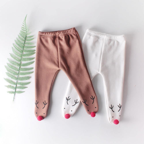 Autumn/Winter Style Christmas pants for new born - LittleTheoryCo