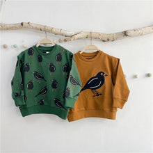 Load image into Gallery viewer, Stylish Fashionable Bird Print Sweatshirt and Sweatpants - LittleTheoryCo