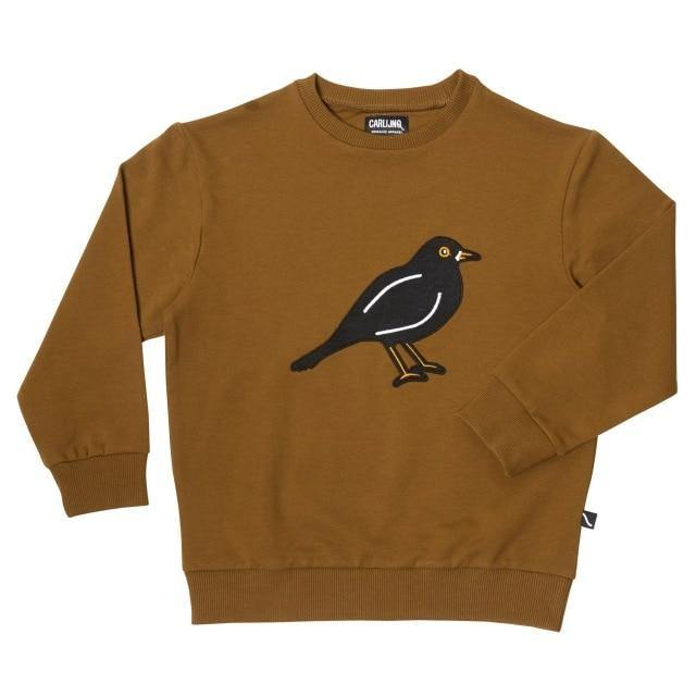 Stylish Fashionable Bird Print Sweatshirt and Sweatpants - LittleTheoryCo