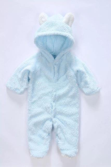 Autumn/Winter Style Baby Jumpsuit Hoodie - LittleTheoryCo