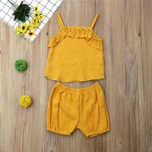 Load image into Gallery viewer, Summer Style Sleeveless Vest top and Shorts - LittleTheoryCo