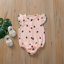 Load image into Gallery viewer, Summer style romper with cute patterns - LittleTheoryCo
