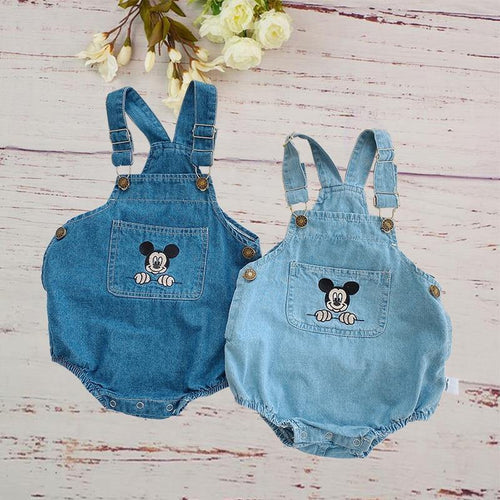 Summer Infant romper with Cartoon Mouse - LittleTheoryCo