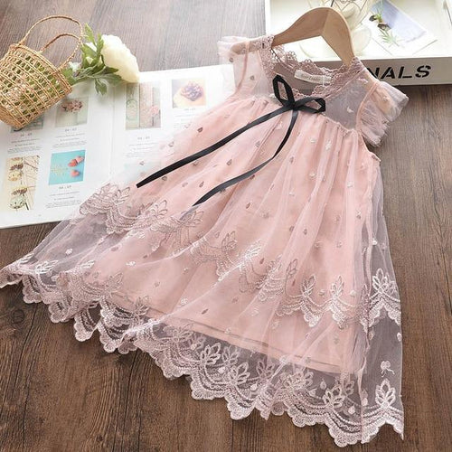 Summer girly fashion style princess dress - LittleTheoryCo