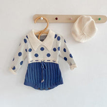 Load image into Gallery viewer, Spring/Autumn Fashionable Baby girl bodysuit - LittleTheoryCo