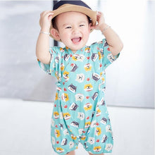 Load image into Gallery viewer, Adorable prints Japanese Stylish Kimono Jumpsuit - LittleTheoryCo