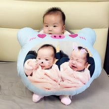 Load image into Gallery viewer, CUSTOMIZED Adorable Plush toy pillow for Toddler(43cm x 33cm) - LittleTheoryCo