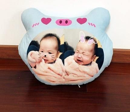 CUSTOMIZED Adorable Plush toy pillow for Toddler(43cm x 33cm) - LittleTheoryCo
