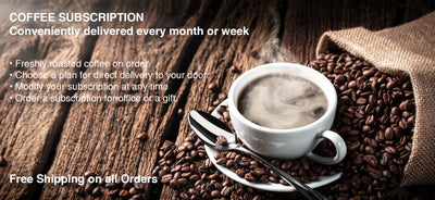 Save 5% on coffee subscriptions
