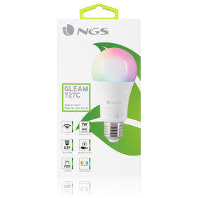 Smart Gloeilamp NGS Gleam727C RGB LED E27 7W