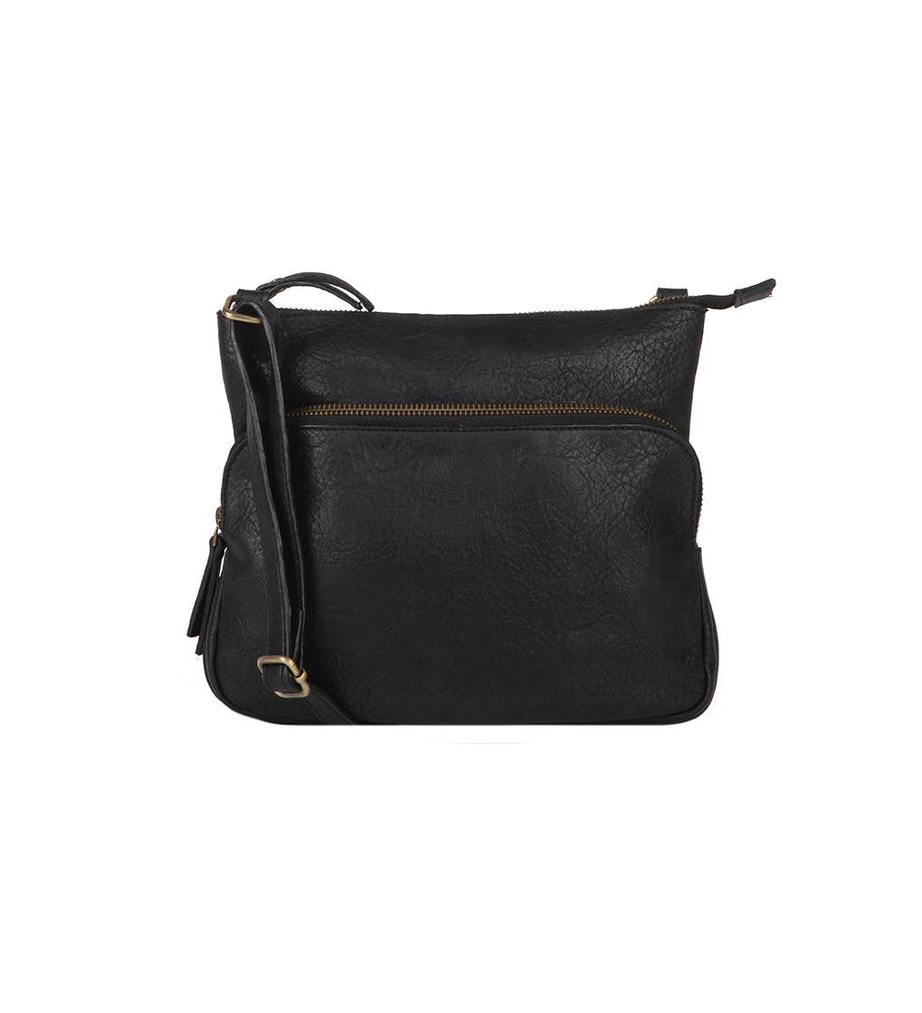 Anna Vegan Leather Crossbody