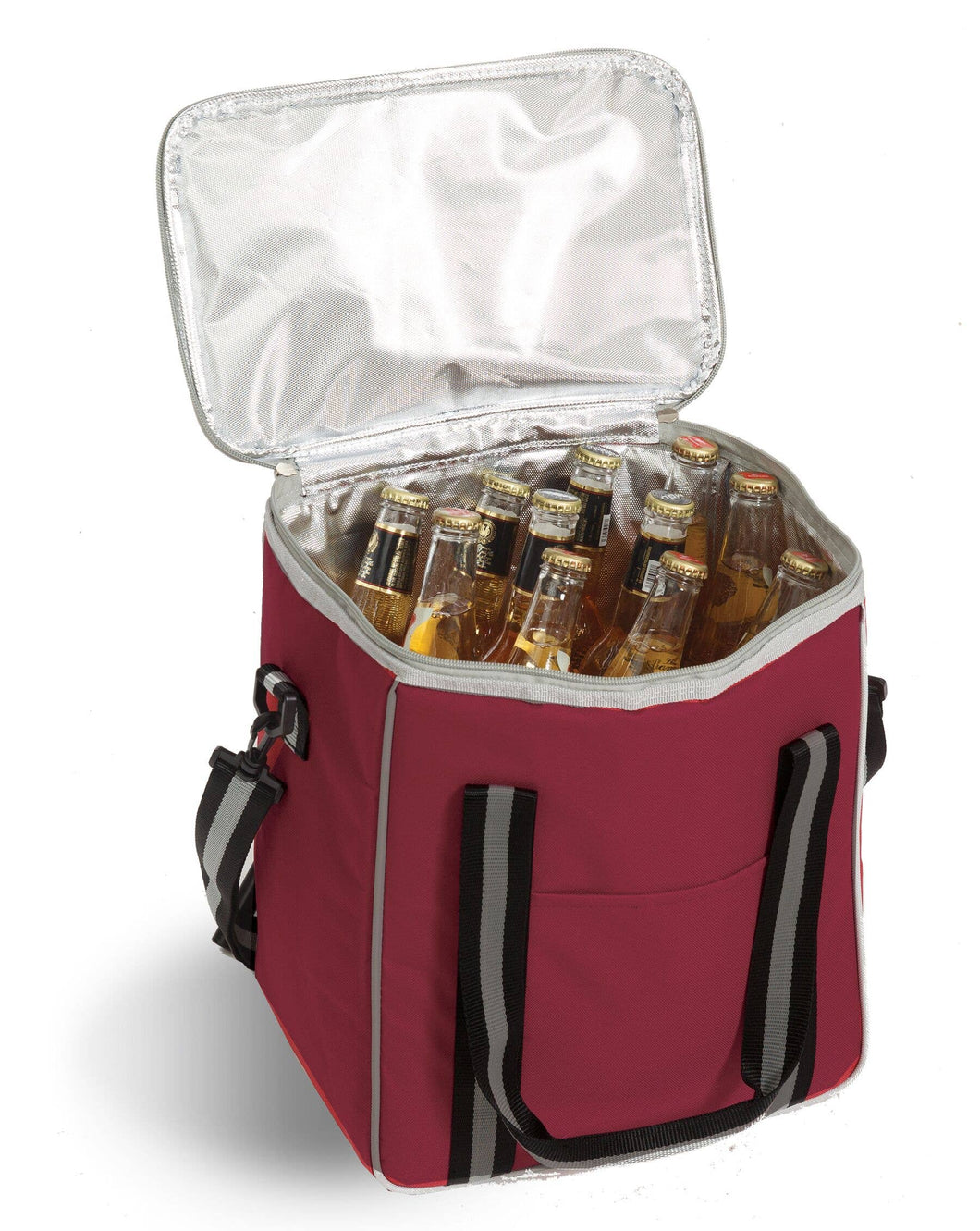 Vineyard Insulated Cooler with Removable Wine Bottle Divider