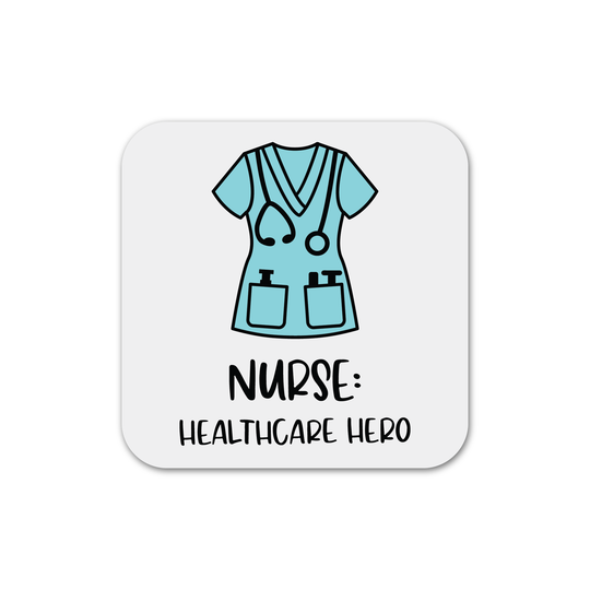 Nurse: Healthcare Hero Magnet